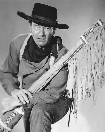 Picture of John Wayne in The Searchers