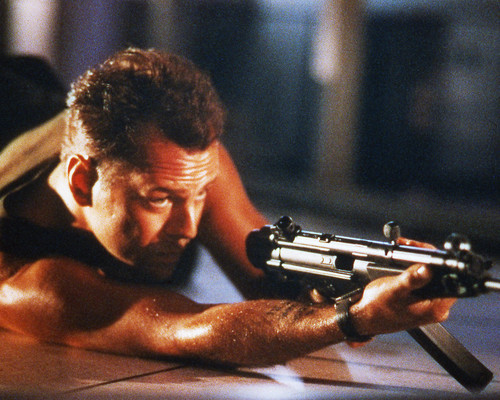 Picture of Bruce Willis in Die Hard