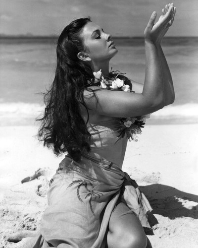 Picture of Jean Simmons in The Blue Lagoon