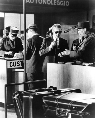 Picture of Steve McQueen in The Thomas Crown Affair