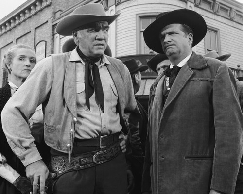 Picture of Lorne Greene in Bonanza