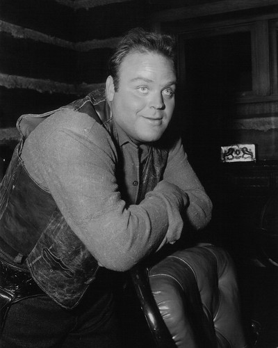 Picture of Dan Blocker in Bonanza