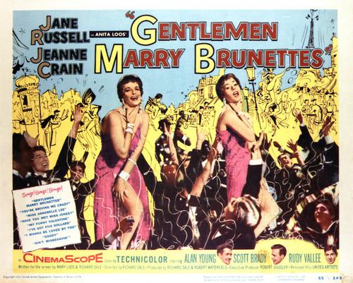 Picture of Gentlemen Marry Brunettes