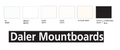 Daler Rowney Mountboards - A1 (Pack of 20)