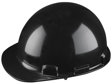 Dom Cap Style Hard Hat w/ Ratchet - CSA, Type 1 - Dynamic HP341 Black