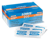 Loris 70% Alcohol Wipes - 400 Pkg - Dynamic - FAAW200