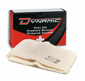 "Dynamic First Aid Triangular Bandage Cotton 40"" X 56"" - 6 Units"