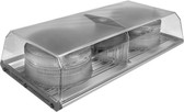 16.5 Inch Low Profile Intelligent LED Minibar - SAE, Class 2 - SWS 16931