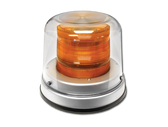 SAE J845 Class 1 - Amber High Profile 360° LED Beacon (Bioptic)