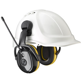 Level Dependent microphones in each earcup ensure excellent directional hearing, offers natural sounds and enable you to hear conversations, warning signals and other important information without compromising protection. Easy to reach controls let you manually tune the AM/FM radio accurately. Combined with the automatic frequency control you will lock on to your favourite station for the best reception available even in low signal areas.  For optimal safety communcation radios can be connected via the external sound input as well as MP3 players and other common devices.