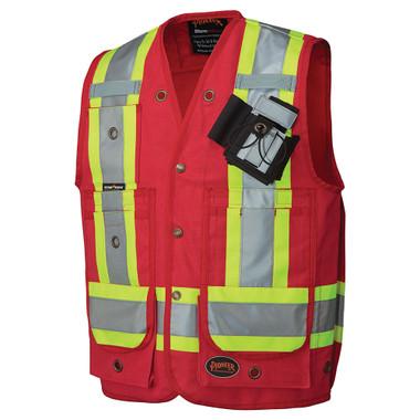 Hi-Vis Premium Surveyor Safety Vest - CSA, Class 1 - 694