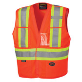 Hi-Vis Tear-Away Safety Vest | CSA, Class 2 | Pioneer Startech