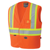 FR Hi-Vis 100% Cotton Safety Vest - CSA, Class 1 - Pioneer - 128
