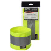 Adjustable Hi-Vis Safety Ankle Band | CSA, 2 Pair | Pioneer