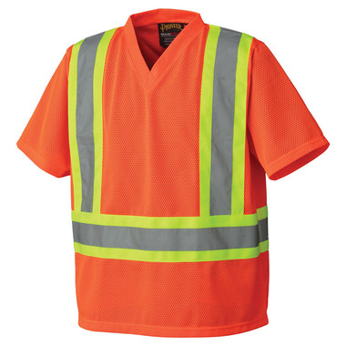 Hi-Vis Traffic Safety T-Shirt - CSA, Class 2 - Pioneer Startech - 5992P