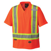 Hi-Vis Quick-Dry Safety T-Shirt - CSA, Class 2 - Pioneer - 6979