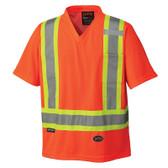 Hi-Vis Quick-Dry Safety T-Shirt - CSA, Class 2 - Pioneer - 6979