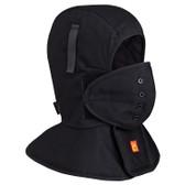 FR Quilted Long Neck Hard Hat Liner FR, OSFA Pioneer Black 565A