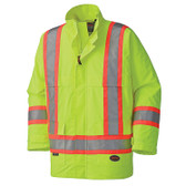 Hi-Vis Waterproof Nailhead Safety Jacket |CSA, Class 2 Pioneer D8125YJ YELLOW