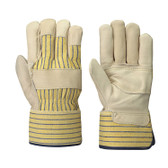 Fitter's Cowgrain Patch Palm Safety Glove -12 Pkg- Pioneer - 536P
