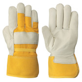 Fitter's Insulated Boa-Lined Cowgrain Safety Glove - 12 Pkg - Pioneer - 530B
