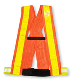 Hi-Vis Safety Sash - WCB - Big K - BK04