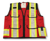 Hi-Vis Denier Surveyor Safety Vest - CSA, Class 2 - Big K - K999