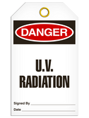 DANGER - U.V. RADIATION