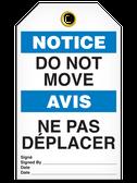 BILINGUAL NOTICE – DO NOT MOVE