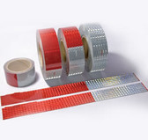 """Conspicuity Tape (Red & White) 11""""/ 7"""" Pattern 2"""" x 30'"""