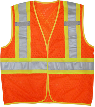 Hi-Vis Mesh Safety Vest - BTE, CSA - Viking 6110O