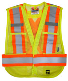 Hi-Vis 5-Point Tear-Away Safety Vest - 2 Pkg - Viking - 6115G