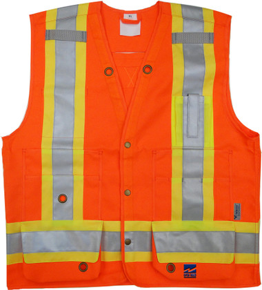 Open Road Surveyor Safety Vest - CSA, Class 2 - Viking  6165O