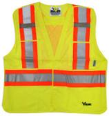 Hi-Vis 5-Point Tear-Away Safety Vest CSA, Class 2 Viking 6125O Orange