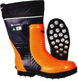 Steel Toe Spiked Bushwhacker Safety Boot CSA, Green TreeViking VW59-1
