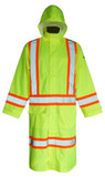 Hi-Vis Waterproof Extra-Long Safety Jacket - CSA, Class 3 Viking - 6326G