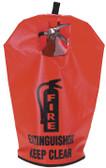 Fire Extinguisher Vinyl Cover (W/ Window)- 10Lb, 20Lb, 30Lb