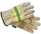 Hi-Vis Ladies Goatskin Insulated Glove - Thinsulate - SSC1111 - Beige