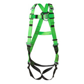 Hi-Vis Full Body Contractor Harness - 3D, Class AE - FBH10000E - Green