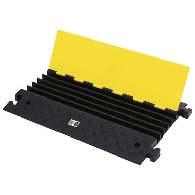 Hi-Vis Cable Protector Ramp - 5 Channel - 287 - Pioneer