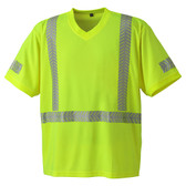 Hi-Vis Cool-Pass Safety T-Shirt - CSA, Class 2 - Pioneer 6901 Yellow