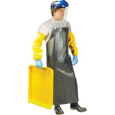 Heavy-Duty Nitrile & Polyester Safety Apron - CFIA - SCN - SAL664