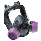 Low-Maintenance Full Facepiece Respirator - 5400 Series - North by Honeywell - SAH792