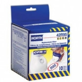 Replacement Filters for CFR-1 | North by Honeywell | 10 per box
