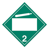 Non-Flammable & Non-Toxic Gasses | Class 2.2 Placard