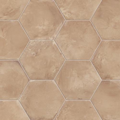 marca corona terra ocra 8 hex tiles direct store. Black Bedroom Furniture Sets. Home Design Ideas
