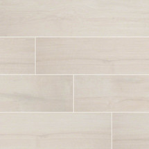 Palmetto Collection - Bianco Porcelain 6x36