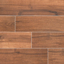 Palmetto Collection - Chestnut Porcelain 6x36