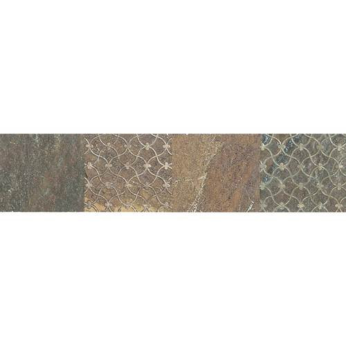 Ayers rock rustic remnant 3x13 deco tiles direct store for Granite remnant cost per square foot