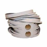 Leather Wrap Bracelet - Snow Patent